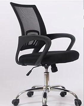 Silla de oficina de SZ5CGJMY®, de tela de malla, para ordenador, ergonómica, ajustable 360°, giratoria, con palanca de elevación: Amazon.es: Hogar