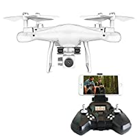 Rabing RC Drone FPV VR WiFi Quadcopter 2.4GHz 6-Axis Gyro Remote Control 2MP Wide Angle Lens Camera from Rabing