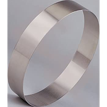 Amazon Com Cake Ring Stainless Steel 1 3 8 Quot High 14