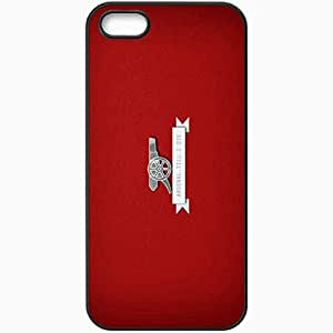 Personalized iPhone 5 5S Cell phone Case/Cover Skin Arsenal fc arsenal till die Black