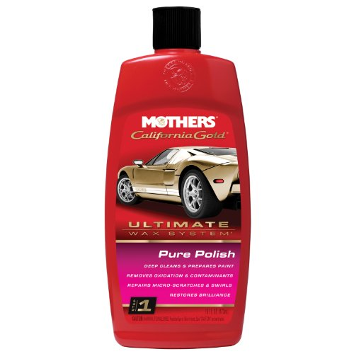 Mothers 07100 California Gold Pure Polish (Ultimate Wax System, Step 1) - 16 oz.