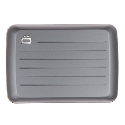 Ogon Stockholm V2 RFID Card Case Wallet Platinum ()
