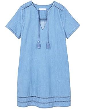 Mango Women's Medium Denim Dress