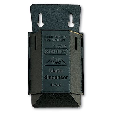 076174119923 - Stanley Bostitch 11-921A Wall Mount Blade Dispenser with 100 Utility Knife Blades carousel main 1