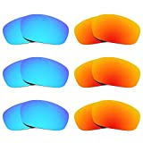 Revant Replacement Lenses for Oakley Jawbone 6 Pair Combo Pack K029