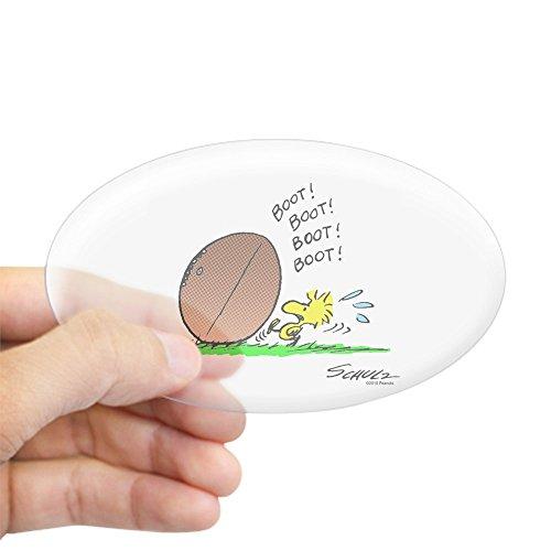 (CafePress Woodstock Kicker Oval Sticker Oval Bumper Sticker, Euro Oval Car Decal)