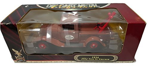 1934 Ford Pick Up (Wrecker) Y. M. Towing Deluxe Edition 1:18 Scale