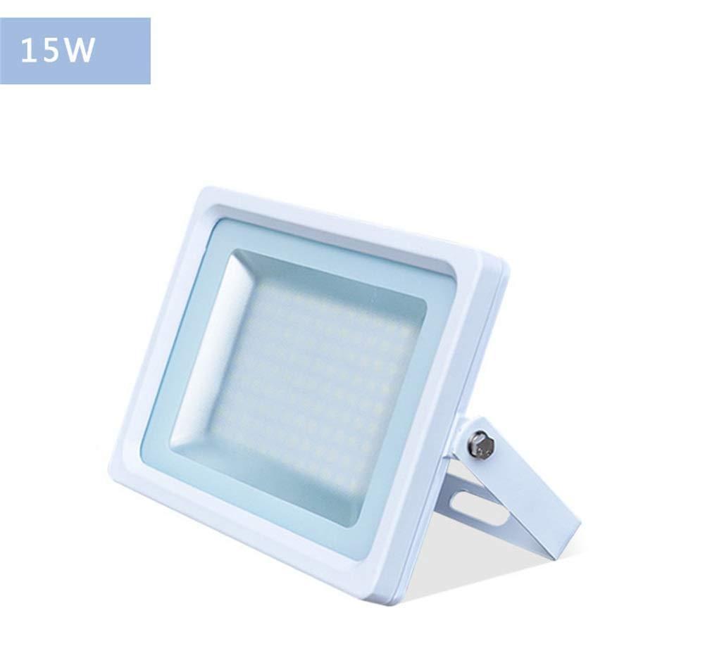 Warm Weiß Light-50w GLP Helles LED-Flutlicht im Freien wasserdichte super helle Hochleistungsbeleuchtung im Freien Straßenlaterne-Scheinwerfer-Projektions-Licht spotbeleuchtung flutlicht (Farbe   Warm Weiß Light-50W)