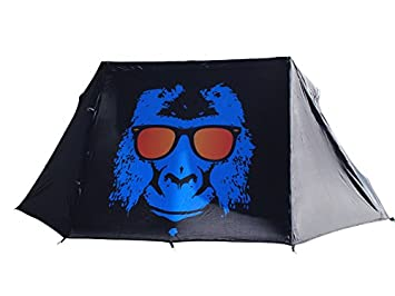 Image Unavailable. Image not available for. Colour Funky Monkey print tent  sc 1 st  Amazon UK : funky monkey tents - afamca.org
