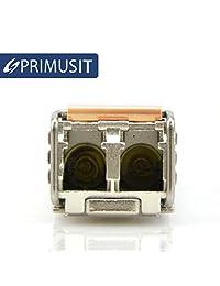 10 Pack primusit 100  compatible con Cisco GLC SX MMD 1.25 GB s Transceptor óptico 850 nm, 550 m con DDM