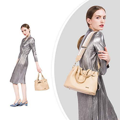 RenDian Women Casual Top Handle Satchel Shoulder Bag Tote Purse Handbags for Travel/Leisure/Dating by RenDian (Image #6)