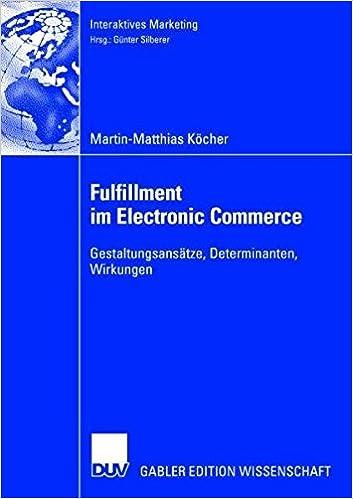 Fulfillment im Electronic Commerce (Interaktives Marketing)