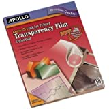 APOCG7033S - Quick-Dry Transparency Film by Apollo