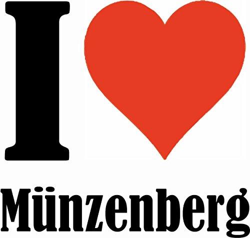"""Handyhülle iPhone 4 / 4S """"I Love Münzenberg"""" Hardcase Schutzhülle Handycover Smart Cover für Apple iPhone … in Weiß … Schlank und schön, das ist unser HardCase. Das Case wird mit einem Klick auf deine"""