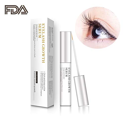 Eyelash Growth Serum,Natural Brow Lash Enhancer,Nourish Damaged Lashes and Boost Rapid Growth for Any Kind of Lash and Brow ()
