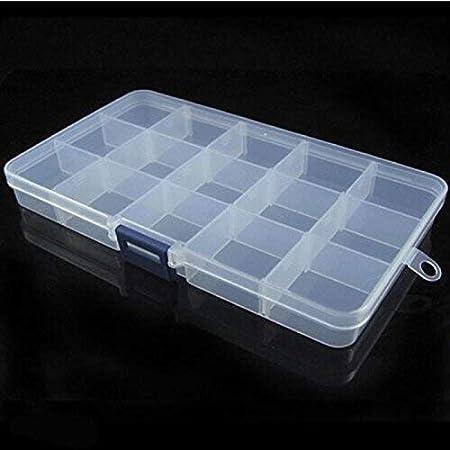 Speedmar - Cajas organizadoras de Almacenamiento portátiles para Pastillas, Accesorios de Viaje para emergencias de plástico (18 x 10 x 2 cm): Amazon.es: Hogar