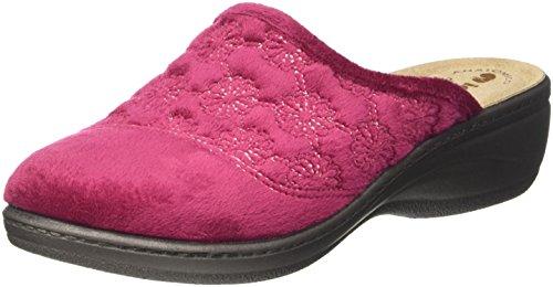 Caviglia Aperte Prugna sulla INBLU Lory Rosso Donna Pantofole n7zqvq8Hwx