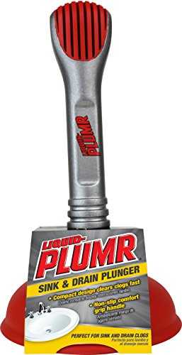Liquid Plumr Mini Sink & Drain Plunger (Sink Drain Plunger)