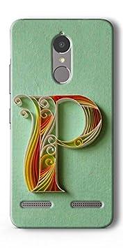 SEI HEI KI Designer Back Cover for Lenovo K6 Power   Multicolor