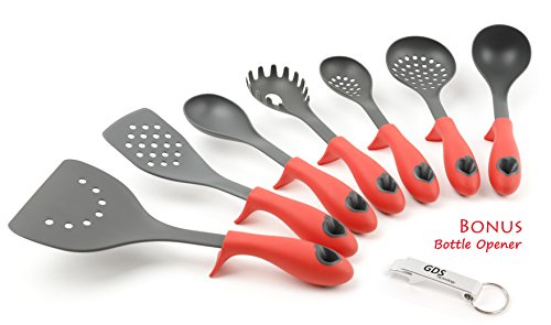 Kitchen Cooking Essential Utensils Opener Red