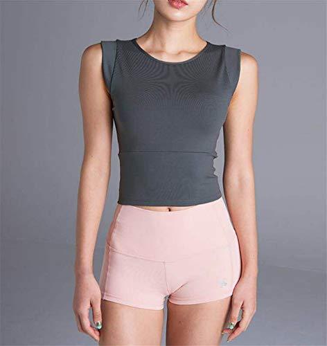 De Rembourré Séchage Soutien À Yoga Rapide Antichoc Jogging Running Pour Workout Femme L Fitness gorge Jswygl Gilet Sport wYvAEYqx