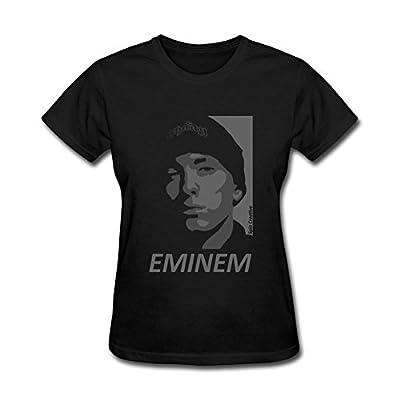 OMMIIY Women's Eminem Art T-Shirt