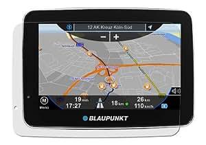 Maoni Antireflex - Protector de pantalla (3 unidades, antirreflejos, antihuellas) para Blaupunkt TravelPilot 40