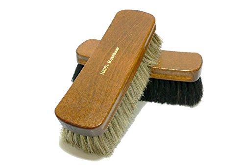 Used, Valentino Garemi Shoe Polishing Brush Set Luxury Shining for sale  Delivered anywhere in USA