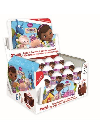 Disney Doc McStuffin Characters Easter Eggs Party Favors For Boys & Girls 8 pack