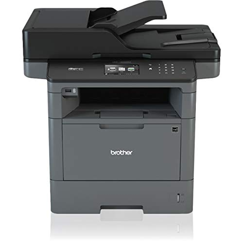 Brother MFC-L5850DW Monochrome Laser All-In-One Printer, Copier, Scanner, Fax from Brother