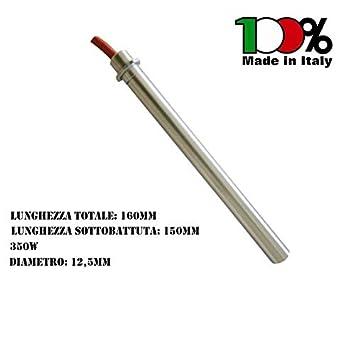 resistencia encendido estufas y pellets diámetro 12,5 mm 350 W 160 mm 14701021 - apto colores surtidos: Amazon.es: Hogar