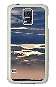Samsung Galaxy S5 Beautiful clouds PC Custom Samsung Galaxy S5 Case Cover White