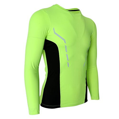 罪符号行為Homyl クイック ドライ スポーツ タイツ ロング スリーブ トップ コンプレッション アクティブウェア Tシャツ 全6サイズ