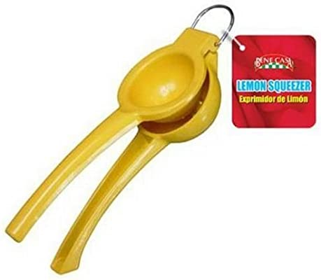 Amazon.com: Yellow Enamel Glazed Lemon Lime Squeezer Juicer Orange by BigKitchen: Paintings