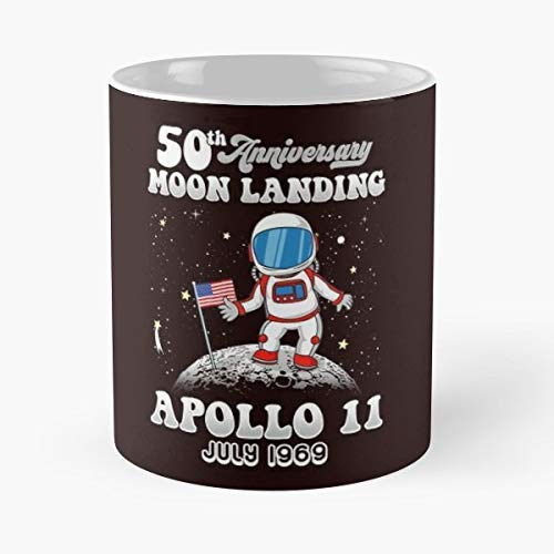 Lolo's store Moon Landings July 1969 Lunar Module Astronaut Space Exploration 50Th Anniversary - Best 11 oz Coffee Mug Cheap Gift