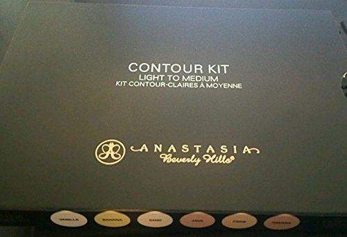 Anastasia Maping Shop Beverly Hills Light to Medium Contour Kit Palette 100% AUTHENTIC