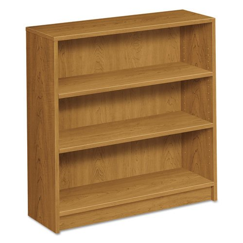 Hon 3-Shelf Bookcase, 36 by 11-1/2 by 36-1/8-Inch, Harvest