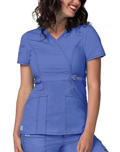 ior Fit Crossover Adjustable-Tab Top - 3234 - Ceil Blue - L ()