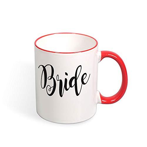 DKISEE Colorful Bride01 Coffee Mug Novelty 11oz Ceramic Mug Cup Birthday Christmas Anniversary Gag Gifts Idea
