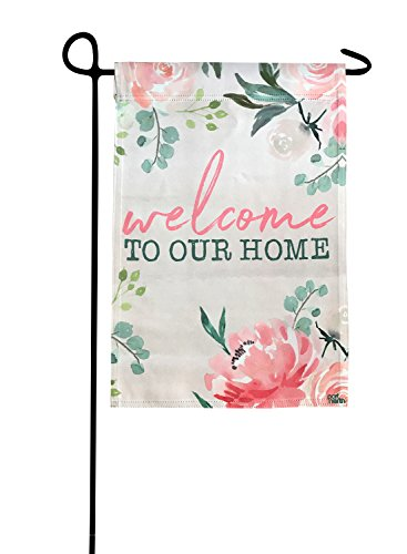 Garden Flag - Welcome To Our Home Double Sided Decorative Fl