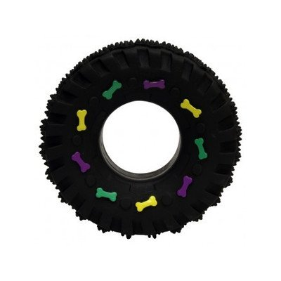 Ethical Pet Vinyl - Ethical Pet Squeaky Vinyl Tire Dog Toy [Set of 3]