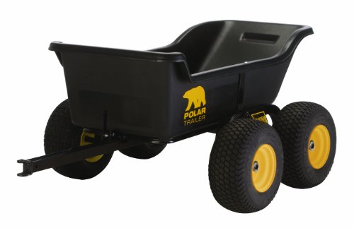 Polar-Trailer-8261-HD-1200-Tandem-Axle-Utility-Cart-84-by-45-by-31-Inch