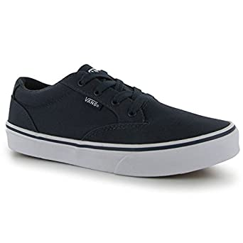 e01cb9ca63 Vans Kids Winston Boys Skate Shoes Navy White 39  Amazon.co.uk  Clothing