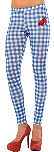 Rubie's Women's Wizard Of Oz Dorothy Leggings, Gingham, One Size