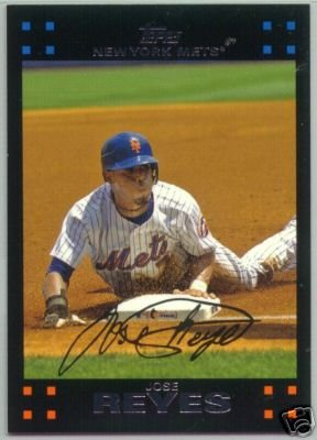 2007 Topps New York Mets Complete Team Set of 27 Baseball Cards (series 1 & 2) - Shipped in protective storage case - Includes David Wright, Jose Reyes, Tom Glavine, Pedro Martinez, Carlos Beltran, Carlos Delgado and more!