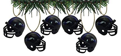 - Baltimore Ravens Football Helmet Ornaments Set Of 6