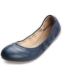 Women s Chaste Ballet Flat Lambskin Loafers Casual Ladies Shoes Leather 2065de0ba332