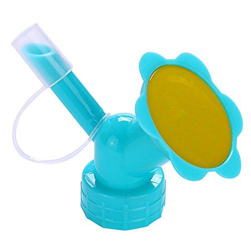 Ktyssp 2In1 Plastic Sprinkler Nozzle Flower Waterers Bottle Watering Cans