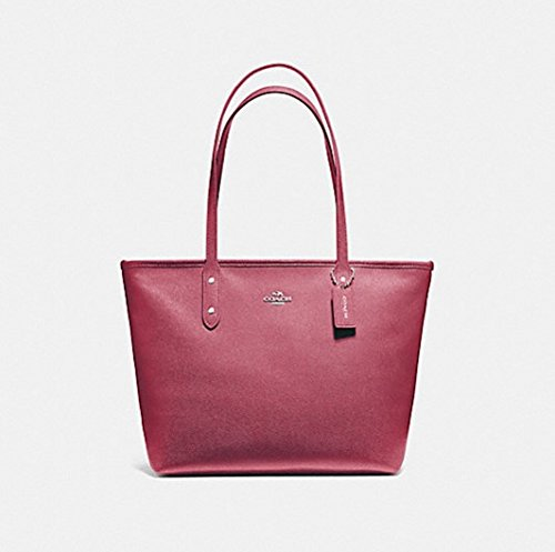 COACH CITY ZIP TOTE, F58846, ROUGE by Coach
