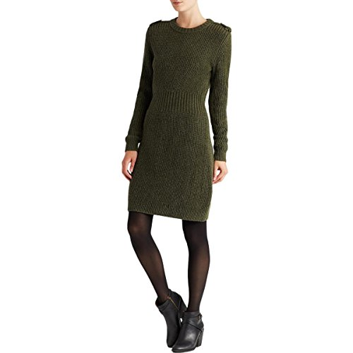 - Marc by Marc Jacobs Womens Benjamine Wool Ribbed Sweaterdress Green M